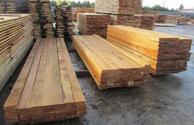 Oak, Beech, Ash, Birch lumber. Edged. KD, MC: 6-12%